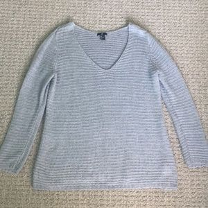 Women's soft V-neck sweater by H&M.